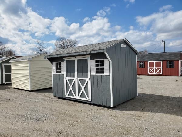 She Shed 8 x 12 Carriage House