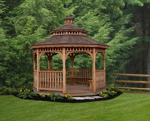 Shenandoah Wood Gazebo