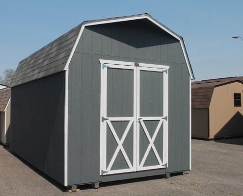 Wood Shed 10 x 18 x 7 Storage Barn