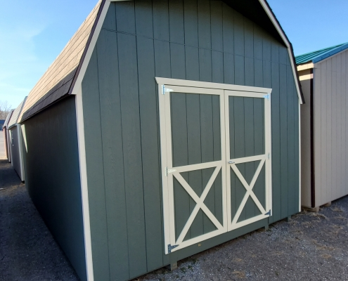 Outdoor Shed 12 x 20 x 6 Barn