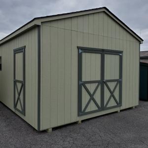 Large Storage Shed 14 x 20 x 8 Cottage