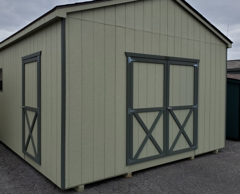 Large Storage Shed 14 x 20 x 8 Cottage