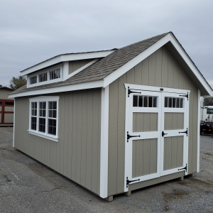 10 x 20 Willaimsburg Dormer Shed
