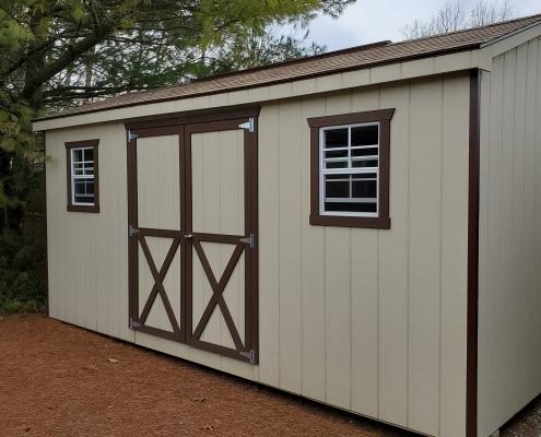 Wood Shed 8 x 16 Cottage