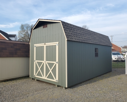 Wood Barn 10 x 20 x 7