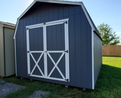 Outdoor Shed 12 x 18 x 6 Barn