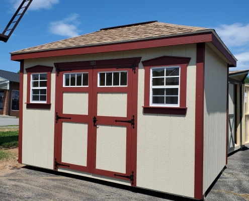 Outdoor Shed 8 x 12 Villa