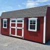 12 x 20 7ft sidewall Red Classic Barn Stock#1057-W