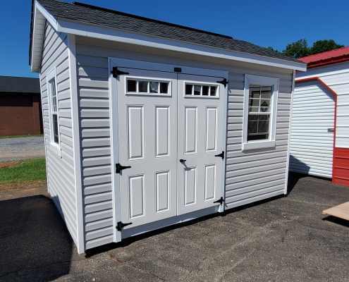 Vinyl Shed 8 x 12 Garden House