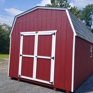 10x20 6ft sidewall Economy Barn Stock#1102