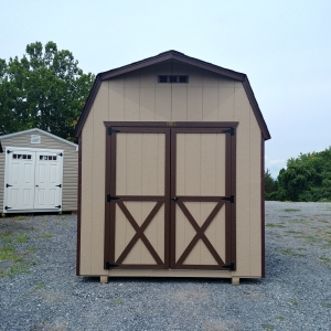 8 x 12 6ft sidewall Storage Barn Stock#1175-W