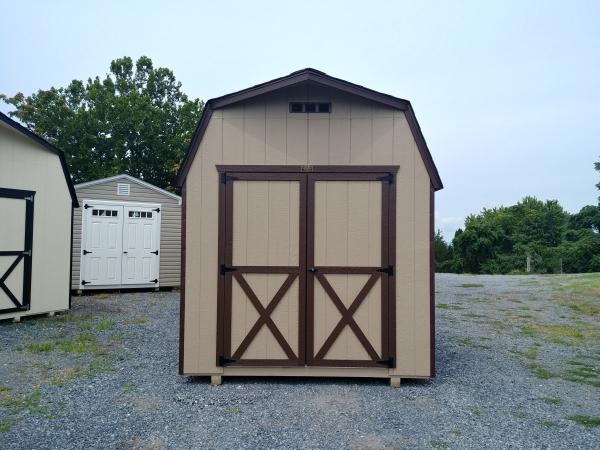 8 x 12 6ft sidewall Storage Barn Stock#1175-W