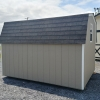 8x10 4ft sidewall Barn Stock#1109