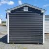 8x12 7ft sidewall Cottage Backyard Shed Stock#1141-W