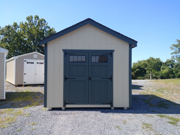 10 x 12 Garden House Shed Stock#1040-W