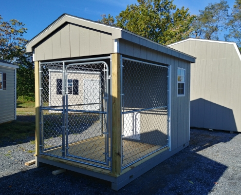 6 x 10 Dog Kennel Stock#1113-W