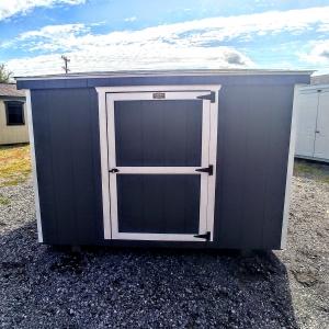 6 x 8 Condo Storage Shed Stock#1143-W
