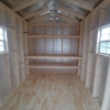 8 x 12 8ft sidewall Cottage Shed Stock#1191-W