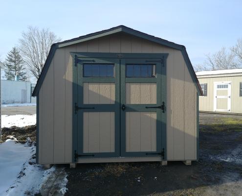 10 x 16 4ft sidewall Backyard Barn Stock#1194-W