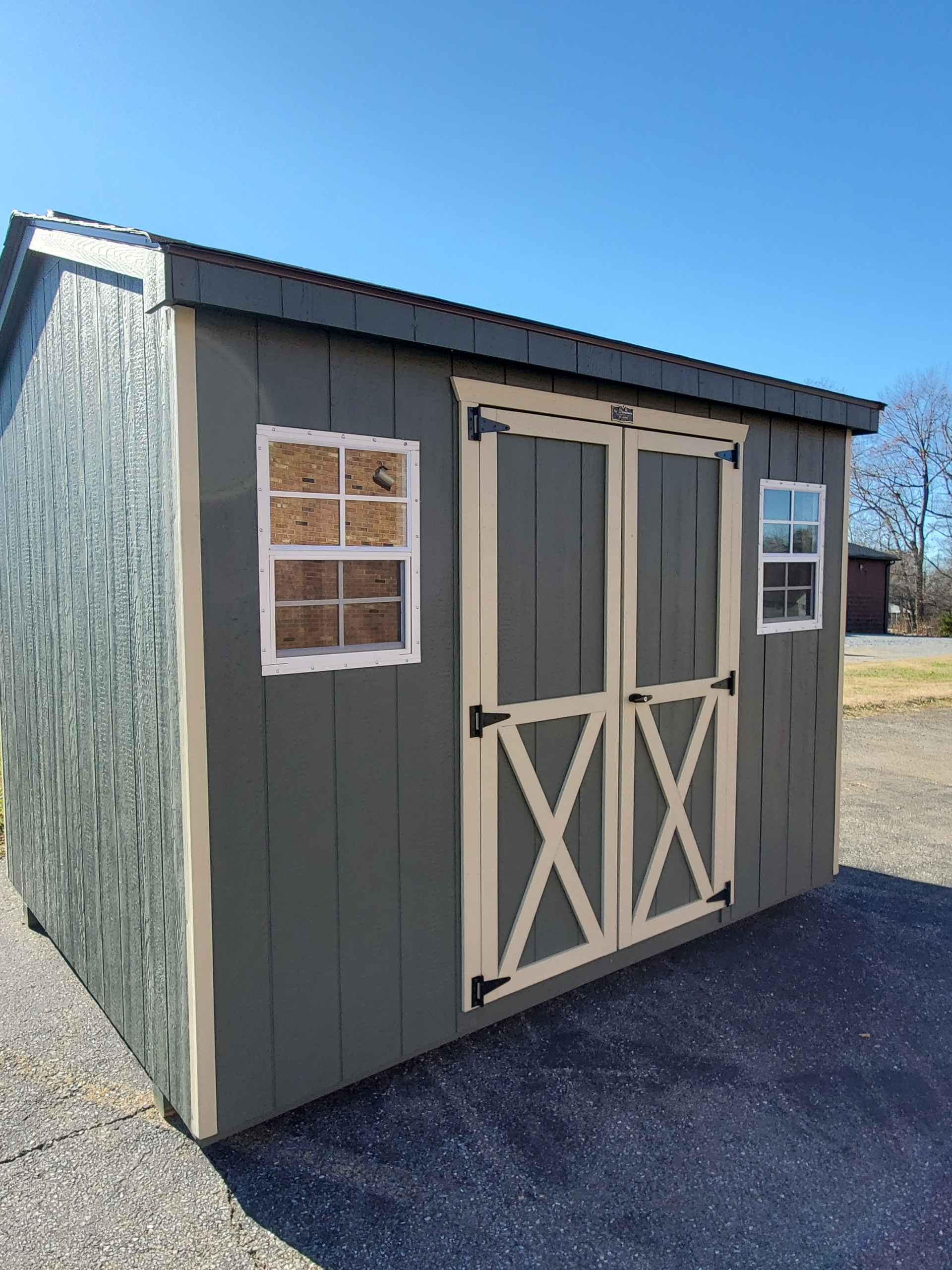 Small Outdoor Shed 8 x 10 Cottage