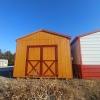12x24 8ft sidewall Cottage Stock#1053-W