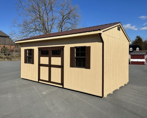12x20x8 carriage house