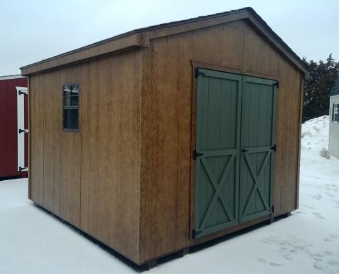 10x10 7ft sidewall Cottage Stock#1177-W