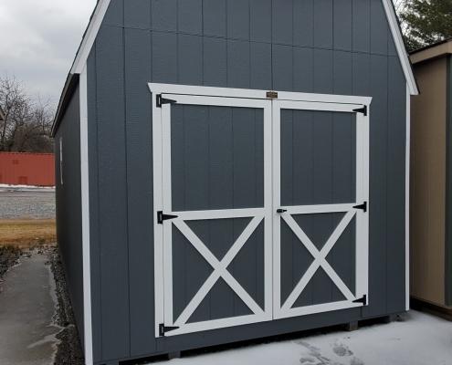 Wood Shed 10 x 20 x 7 Barn