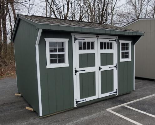 She Shed 10 x 12 Carriage House