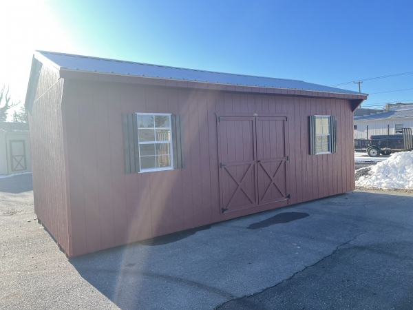 12x24x8 carriage house