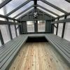 10x14 greenhouse interior