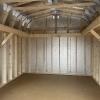 12x16x7 barn h3575 interior