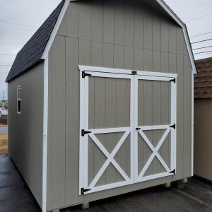 Backyard Shed 10 x 14 x 7 Barn