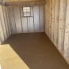 8x14x6 Barn H3585 interior