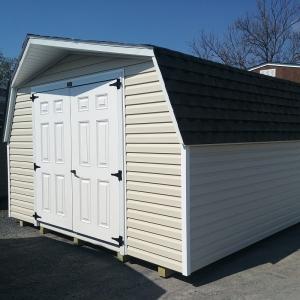 12x12 4ft sidewall Barn Stock#1315-W