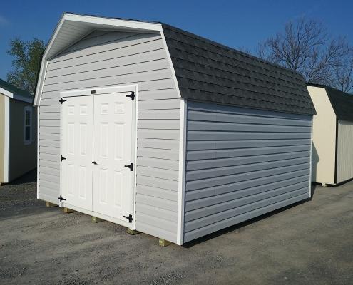 12x14 6ft sidewall Barn Stock#1317-W