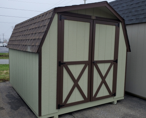 Outdoor Storage 8 x 10 Barn