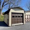 12x20x7 Barn Garage H3633 2