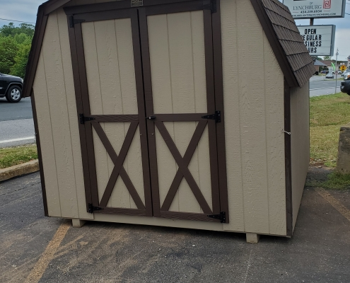 Small Shed 8 x 12 Barn