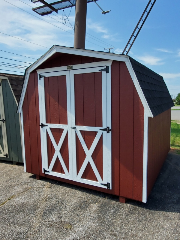 Small Shed 8 x 10 Barn
