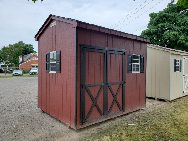 Tool Shed 8 x 10 x 8 Cottage
