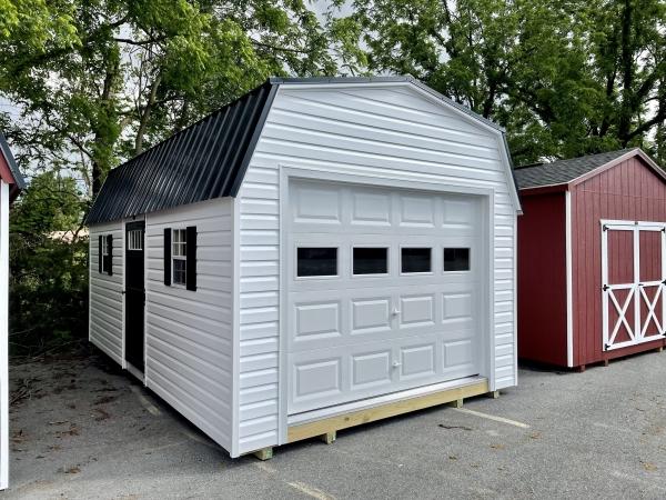 12x20x7 Vinyl Barn Garage H3601