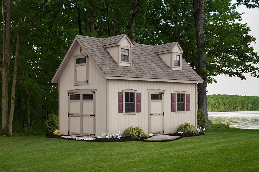 2 story cottage shed