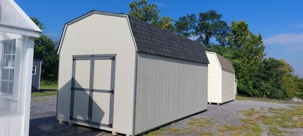 10x18 7ft sidewall Economy Barn Display#1385-W