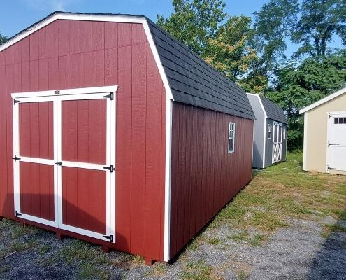 12x18 6ft sidewall Economy Barn