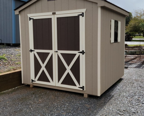Tall Outdoor 8 x 8 Cottage